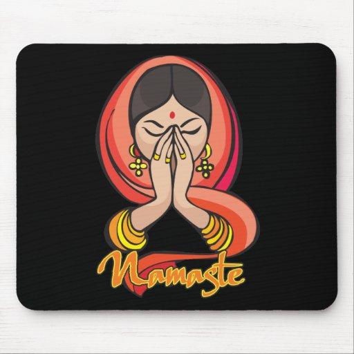 Namaste hindú mousepads
