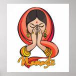 Namaste hindú posters