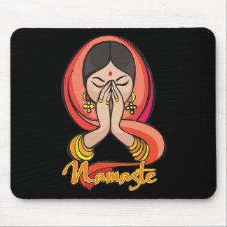 Namaste hindú tapetes de raton