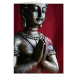 Namaste' - I bow to the divine within you Stationery Note Card