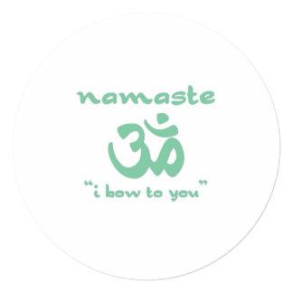 Namaste - I bow to you Card
