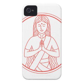 Namaste  Icon iPhone 4 Cover