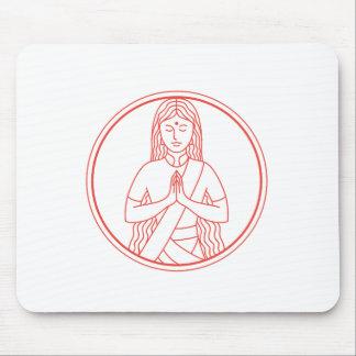 Namaste  Icon Mouse Pad