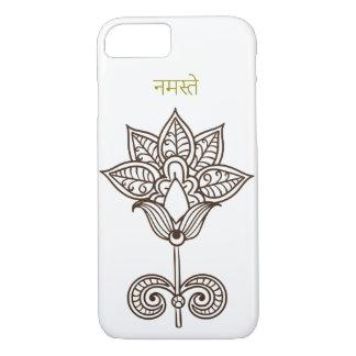 namaste india flower beautiful iPhone 8/7 case