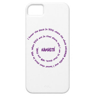 Namaste' iPhone SE/5/5s Case