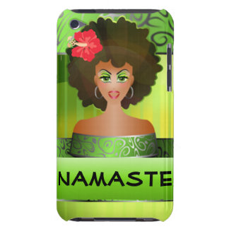 Namaste  iPod case Barely There iPod Cover