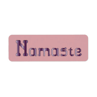 Namaste Label Stickers