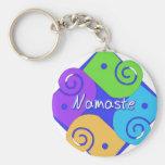 Namaste Llaveros Personalizados