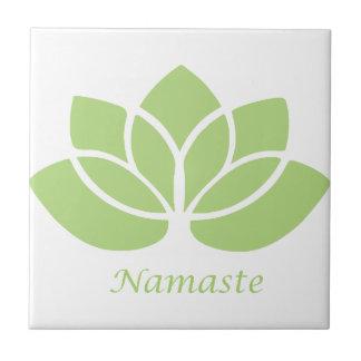 Namaste Lotus Azulejos Ceramicos