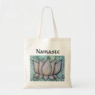 namaste lotus bag