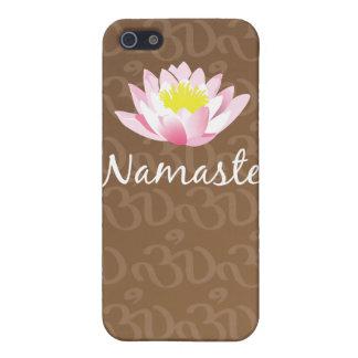 Namaste Lotus Flower Yoga Om iphone case iPhone 5 Case