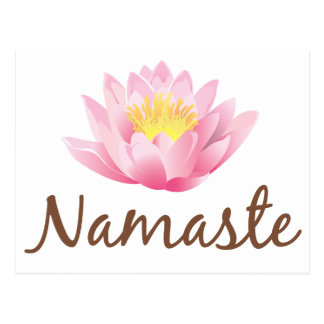 Namaste Postcards Zazzle