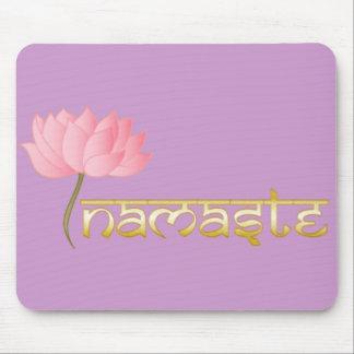 Namaste Lotus Mousepad Tapetes De Raton