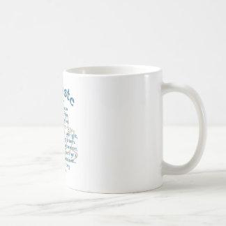 Namaste Lotus Classic White Coffee Mug