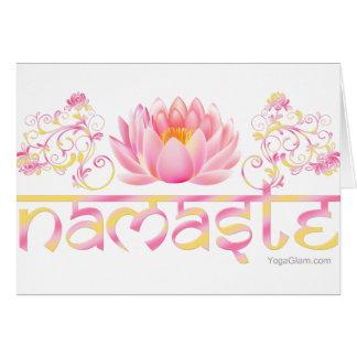 Namaste lotus new card