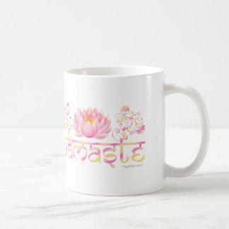 Namaste lotus new coffee mug