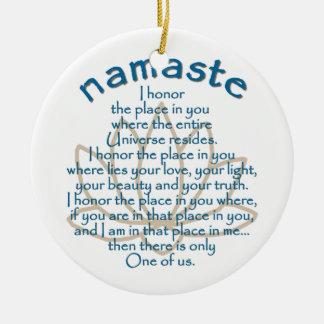 Namaste Lotus Ornaments