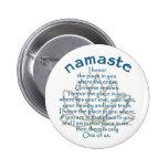 Namaste Lotus Pin Redondo 5 Cm