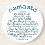 Namaste Lotus Posavasos Diseño