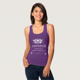 Namaste Lotus Tank