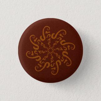Namaste Mandala Pinback Button