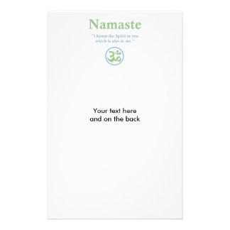 Namaste meaning with Om Symbol Flyer