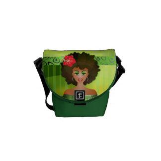 Namaste mini messenger bag