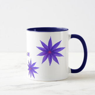 NAMASTE MUG, purple lotus. Mug