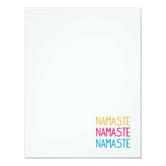 Namaste Notecard
