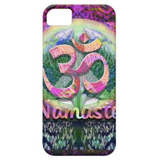 Namaste Peace Symbol iPhone SE/5/5s Case