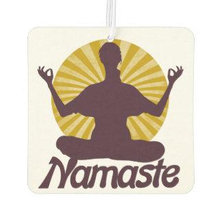 Namaste peaceful meditation air freshener