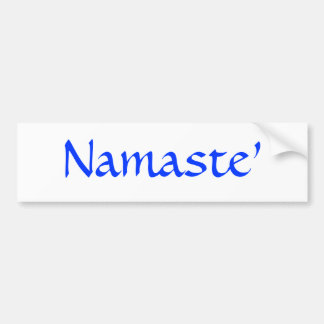 Namaste Pegatina Para Auto