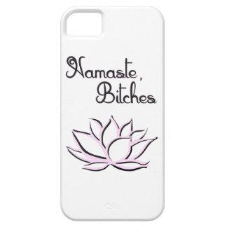 Namaste, perras funda para iPhone SE/5/5s