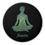 Namaste Personalized Ceramic Knob