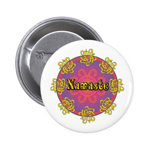 Namaste Pin Redondo 5 Cm