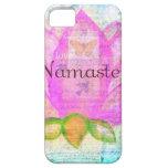 Namaste PINK LOTUS Peaceful Art iPhone 5 Cases