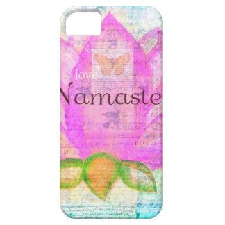 Namaste PINK LOTUS Peaceful Art iPhone SE/5/5s Case