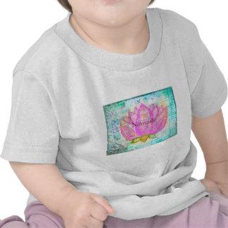 Namaste PINK LOTUS Peaceful Art Shirt