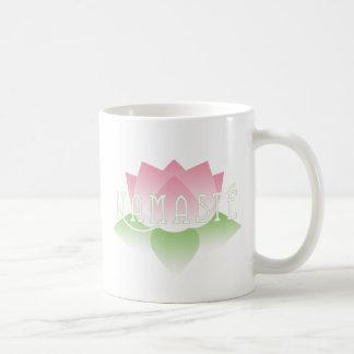Namaste Pink Lotus Yoga Mug