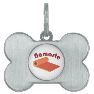 Namaste Placas Mascota