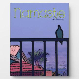 Namaste Plaque