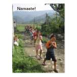 Namaste! Postcard