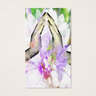 Namaste Prayer Praying Hands Business Cards