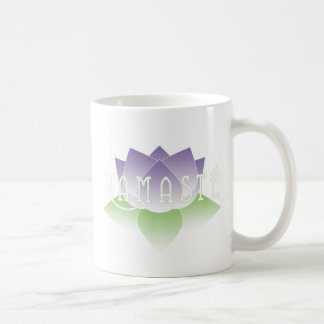 Namaste Purple Lotus Yoga Mug