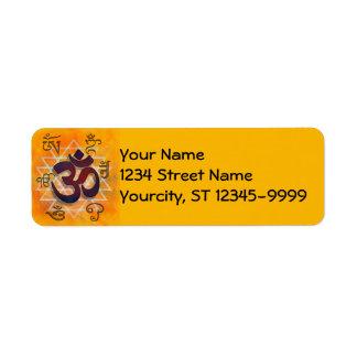 Namaste Return Address Labels