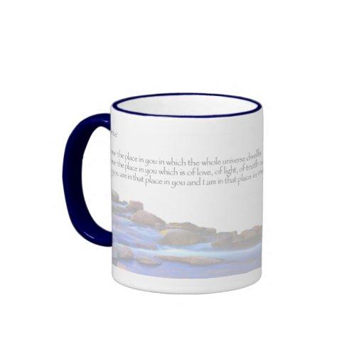Namaste Ringer Coffee Mug