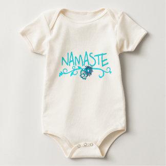 Namaste - ropa de la yoga del bebé (orgánica) mamelucos