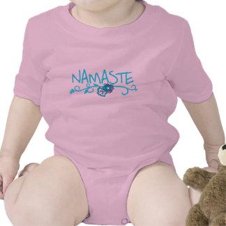 Namaste - ropa de la yoga del bebé traje de bebé