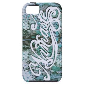Namaste Script in blue iPhone SE/5/5s Case
