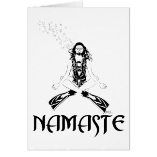Namaste Scuba Yoga Cards